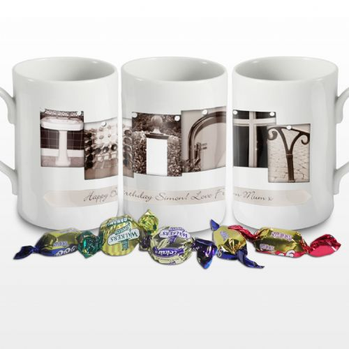 Personalised Affection Art Thirty Mug